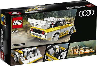 LEGO 76897 Speed Champions Audi Sport Quattro S1 Racer Toy With Racing Driver
