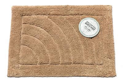 (Carnation Home Shaggy Cotton Chenille Bath Room Mat Size  21