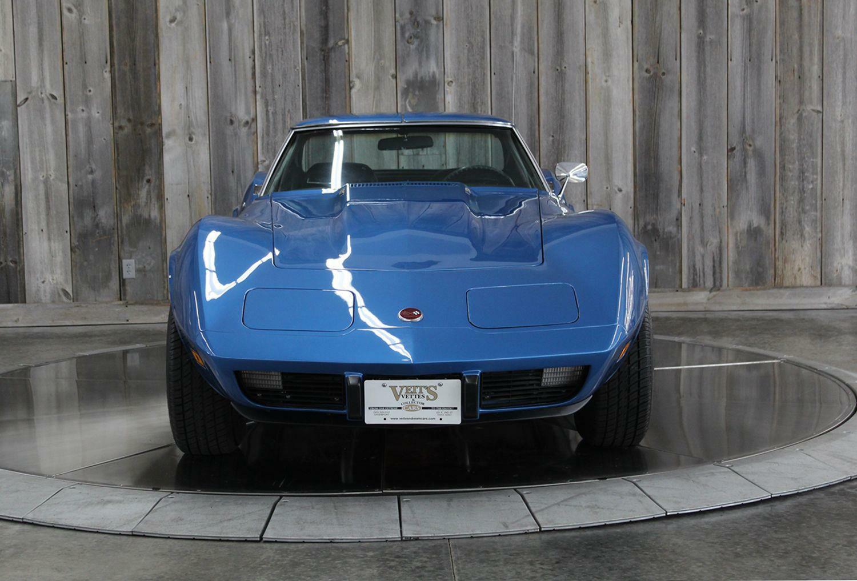 1975 Blue Chevrolet Corvette  L82   C3 Corvette Photo 7