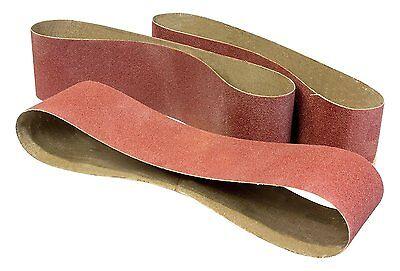 WEN 6502SP2 120-Grit 4 x 36-Inch Belt Sander Sandpaper, 3-Pack