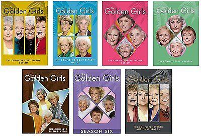 The Golden Girls  Complete Series Season 1 7 Collection Dvd Season 1 2 3 4 5 6 7