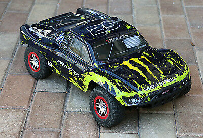 Traxxas Truck Car Body Muddy 1/10 Slash 4x4 VXL 2WD Slayer Shell Cover Baja 6811