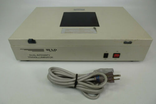 UVP Dual Intensity Chromato-Vue Ultraviolet Transilluminator Model TS-15