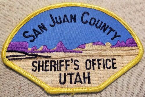 UT San Juan County Utah Sheriff Patch