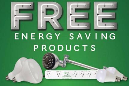 FREE Shower Heads, LEDs and Stanby power savers