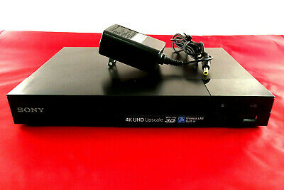 Sony 4K Blu-ray Disc Player with Wi-Fi BDP-S6500 FAST SHIPPING (NO REMOTE)