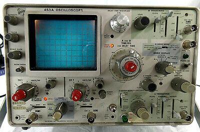 Tektronix 453a Oscilloscopefor Partsrepair