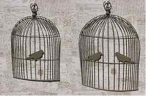 Bird Cage Memo Board Wall Art Vintage Chic French Country Cages Message EBay