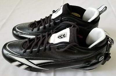 Mens Size 14 Black Reebok V.Young Electrify Football Shoes