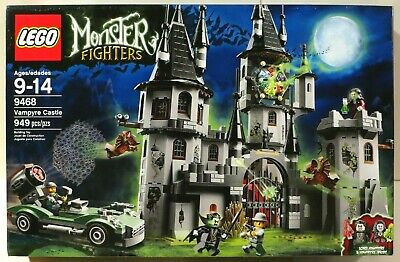"""LEGO Monster Fighters """"THE VAMPYRE CASTLE"""" (9468) NEW SEALED"""