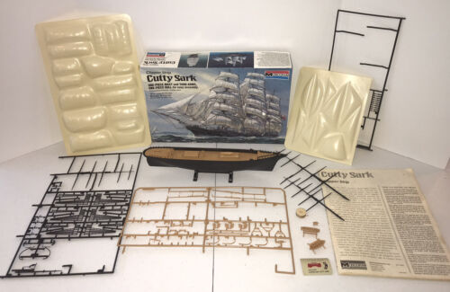 """Monogram Clipper Ship Cutty Sark, vintage 16 7/16"""" Long, Kit 3500 Unfinished"""