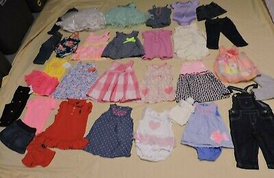 Baby Girl 6-9-12 Months Spring Summer Clothes Outfits Sets Lot/32 Free Shipping