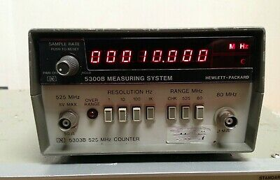 Hp 5300b Measuring System W 5303b 512mhz Universal Counter