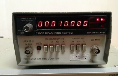 HP 5300B Measuring System w/ 5303B 512Mhz Universal Counter