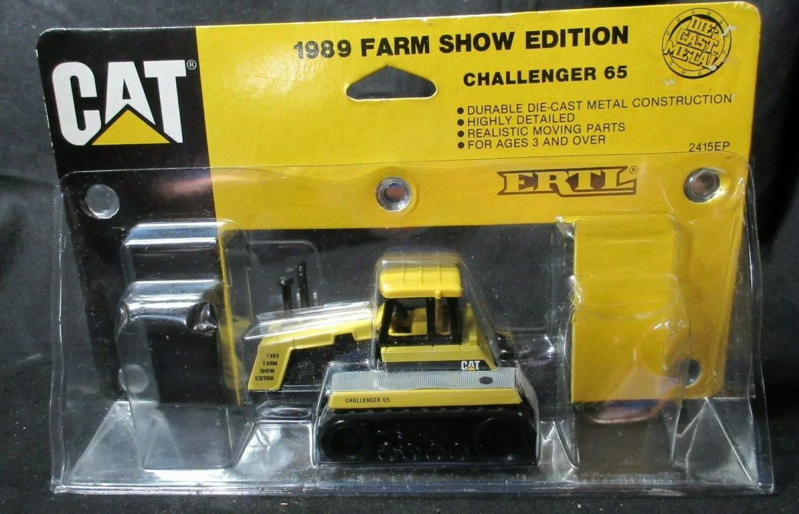 Caterpillar 65 Challenger1989 Farm Show Edition By Ertl 1/64th Scale 2415EP NIP