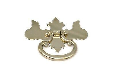 - Chippendale Drawer Pull Single Post Drawer Pull Antique Drawer Ring Pull Medium