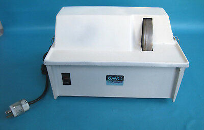 Optical Works Wm095 Eyeglasses Lens Hand Edger And Polisher Made In Usa 120v