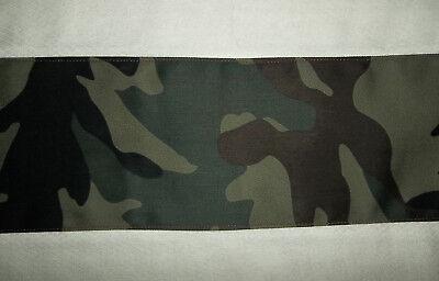 Handmade Baby Burp Cloths, Green & Brown Camoflage Band on Cloth Diaper