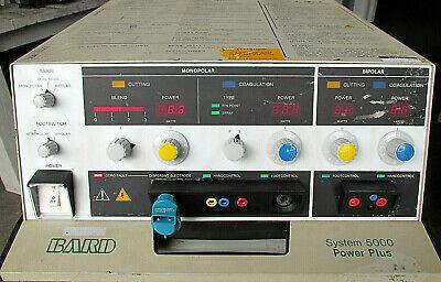 Bard System 5000 Power Plus Cuttingcoagulation Electrosurgical Generatorparts