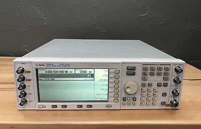 Agilent Hp E4437b 4 Ghz Digital Rf Signal Generator Option Und H99 Calibrated