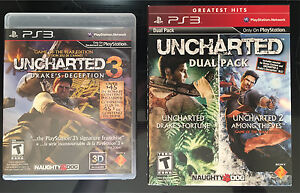 Uncharted 1-3 GOTY Editions