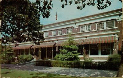 1955 Exterior View Superior Bath House Hot Springs AR Postcard B36