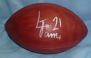 LaMichael-James-Signed-Official-NFL-Football-PSA-DNA-Rookie-COA-Game-Ball-Autod