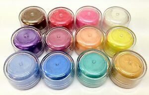 Perfect Mica Pearl Powders - Brights + Free very mini misting spray bottle