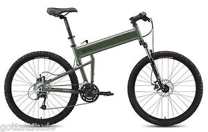 2014 Montague Paratrooper 24-Speed Folding Mountain Bike