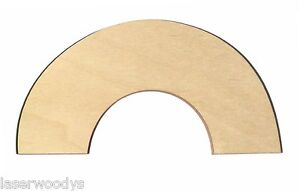 Rainbow-Arch-Unfinished-Flat-Wood-Shapes-Cut-Outs-RA949-Variety-Sizes