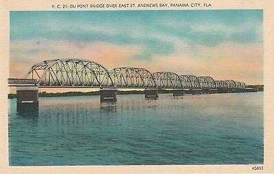LAM(X) Panama City, FL - Du Pont Bridge Over St. Andrews Bay