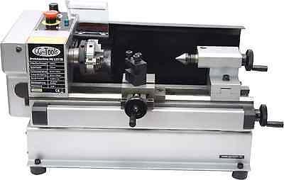 10101 GG-Tools Mini Drehmaschine HG125 C0 Drehbank - Feindrehmaschine