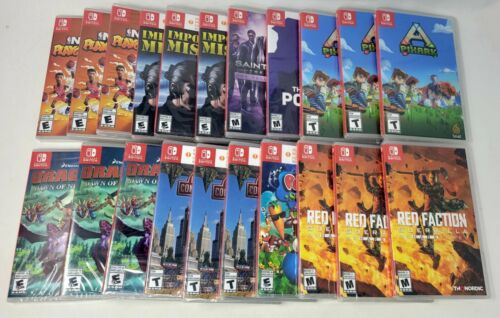 Huge Lot (21) of Brand New Sealed Nintendo Switch Games Fast Shipping