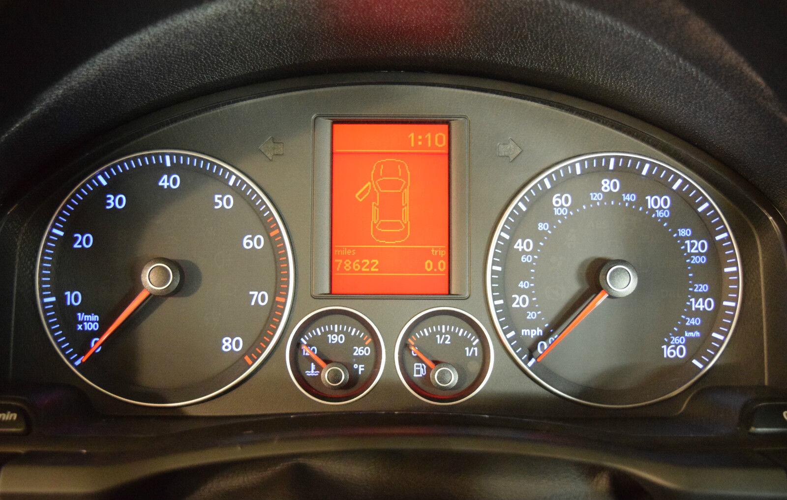 VOLKSWAGEN VW JETTA INSTRUMENT CLUSTER LCD DISPLAY 2005 2006 2007 2008 2009 NEW | eBay