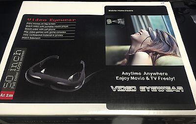 "RC FLYING FPV Glasses Video Viewer DISPLAY Eyewear LCD Monitor 50""Screen LCOS"