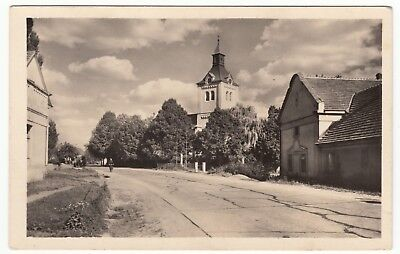 CROATIA ZAGREB NOVA VES KOLIN DISTRICT REAL PHOTO POSTCARD POSTED CIRCA 1953