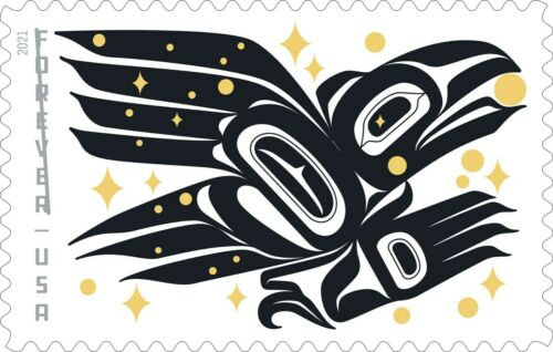 5620 Raven Story US Single Stamp Mint/nh FREE SHIPPING Delivery After 8/6