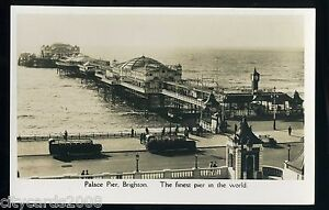Sussex-BRIGHTON-Palace-Pier-Finest-pier-in-the-World-Charabancs-RP