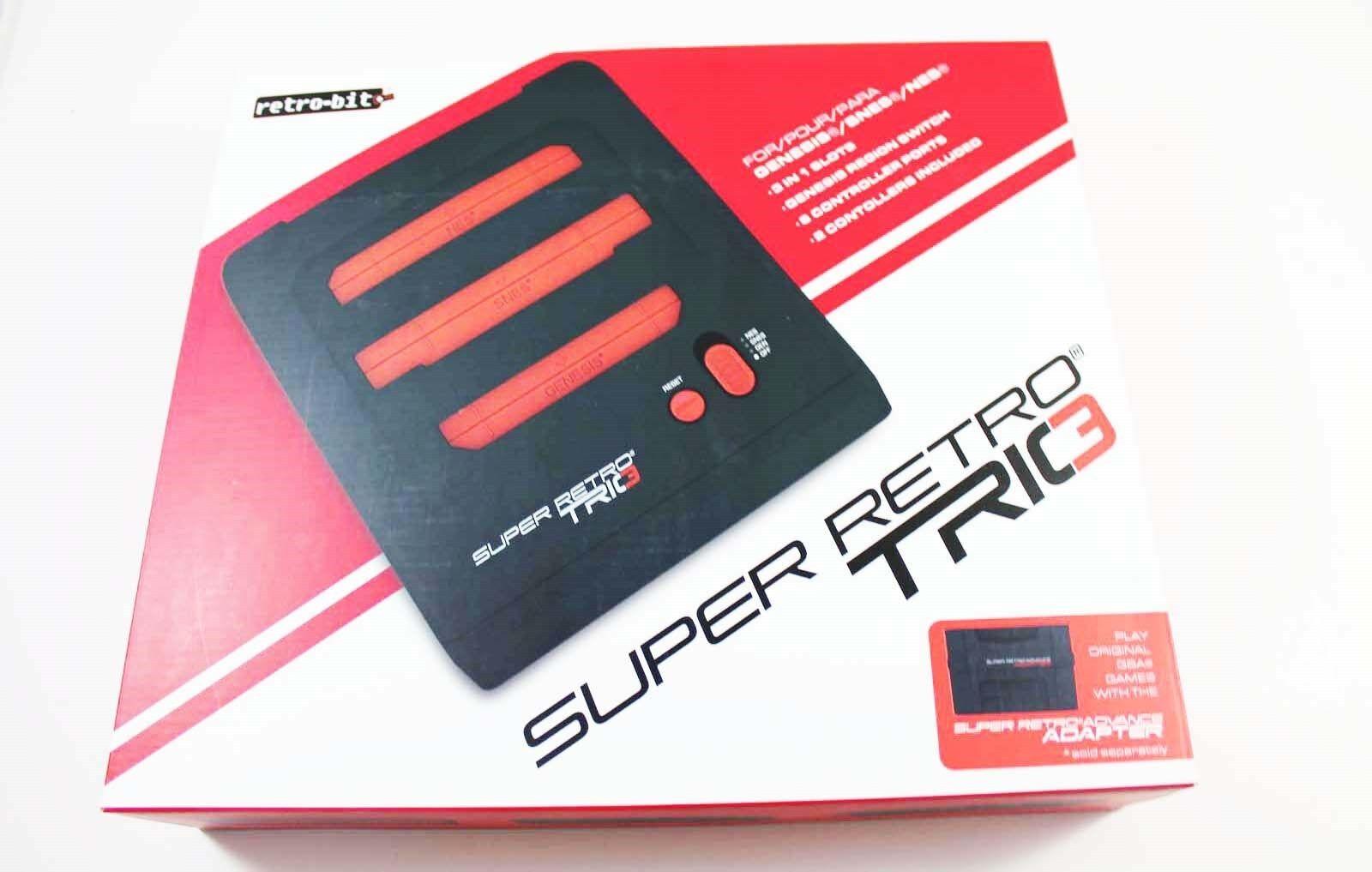 Retro-Bit Super RetroTRIO Console NES/SNES/Genesis 3-In-1 Sy
