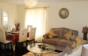 Fully Furnished Detached 3 Bedroom Luxury House near  Heartland