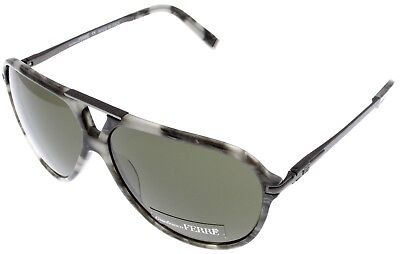 Gianfranco Ferre Sunglasses Unisex Aviator Grey Havana Multi-Color GF922 (Gianfranco Sunglasses)