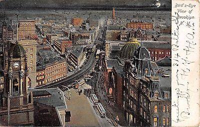 c.1905 Bird's Eye View Brooklyn New York