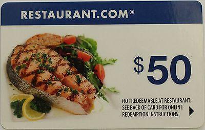 50 Restaurant Com Gift Certificate No Expiration Date