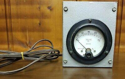 Weston Electric Voltage Meter Box Model 476