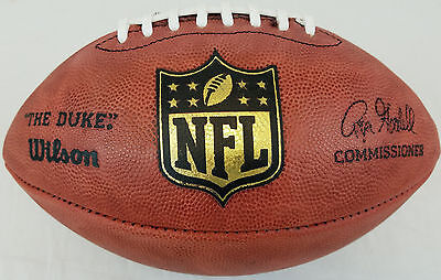 Official Wilson Nfl On Field  The Duke  Game Football Roger Goodell