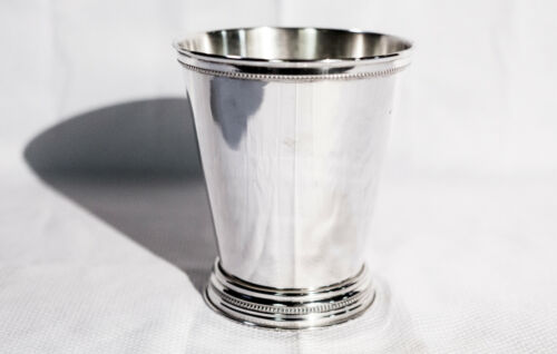 Timeless Large Silver Mint Julep Cup