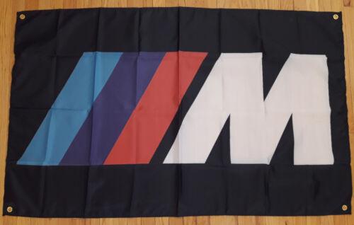 BMW Automotive M Shop Flag Garage Man Cave Racing Banner 5X3FT