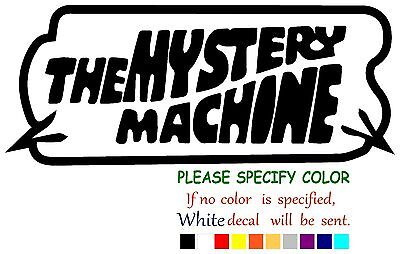 The Mystery Machine Funny Vinyl Decal Sticker Car Window Laptop Tablet Truck 12