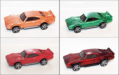 Hot Wheels '68 DODGE ICE CHARGER Custom Paint Loose