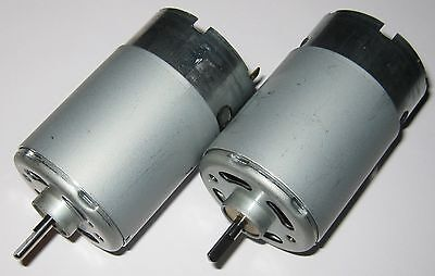 2 X Mabuchi 555 12V DC Electric Motor - Model Boat / Ship / Train Engine Motors